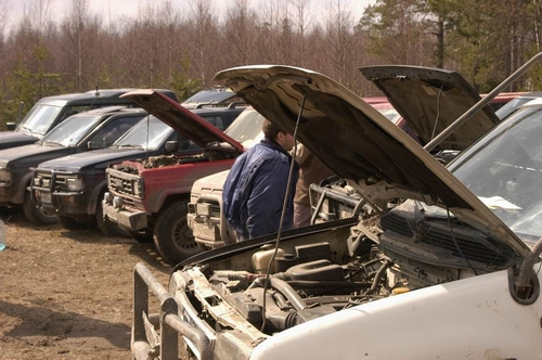 First Moscow Nissan 4x4 Offroad Club