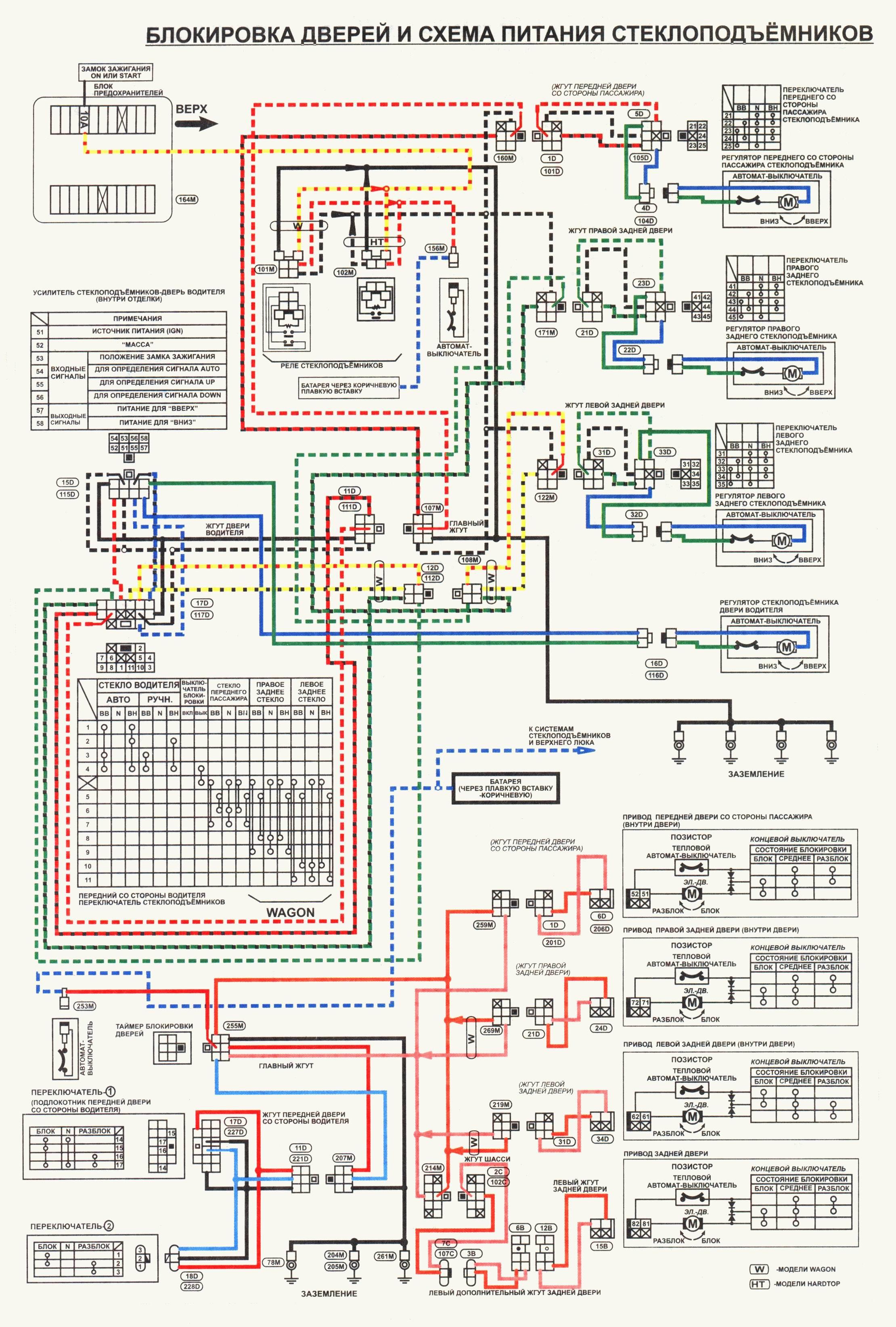 Электро схему на x-trail